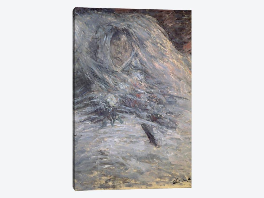 Camille Monet  by Claude Monet 1-piece Canvas Wall Art
