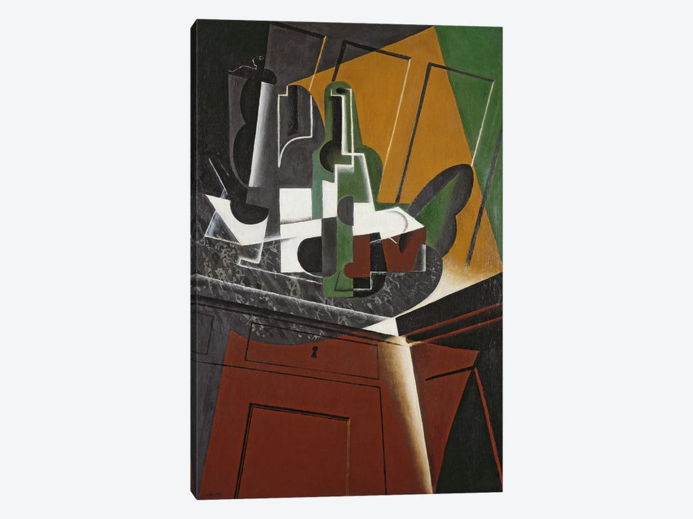 The Sideboard, 1917 (oil on plywood) by Juan Gris 1-piece Canvas Artwork