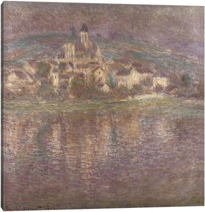 Vetheuil, sunset, 1901 Canvas Print #BMN1320