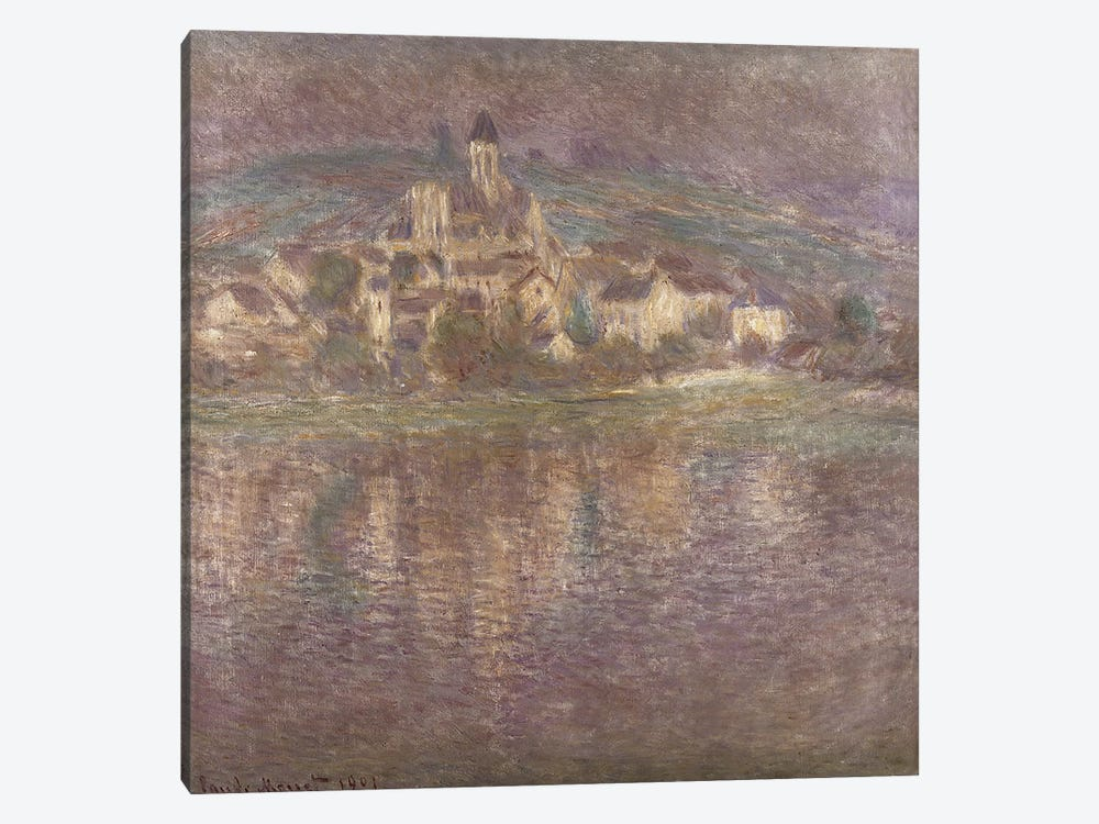 Vetheuil, sunset, 1901 1-piece Art Print