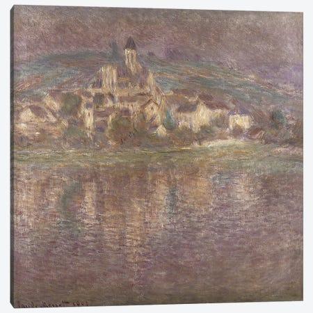 Vetheuil, sunset, 1901 Canvas Print #BMN1320} by Claude Monet Art Print