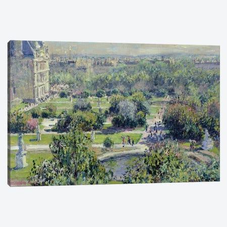 View of the Tuileries Gardens, Paris, 1876  Canvas Print #BMN1322} by Claude Monet Canvas Print