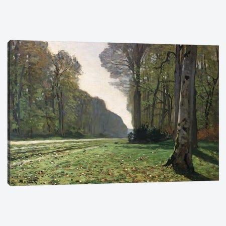 The Road to Bas-Breau, Fontainebleau  Canvas Print #BMN1325} by Claude Monet Canvas Art