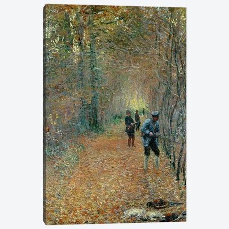 The Shoot, 1876 Canvas Print #BMN1328} by Claude Monet Art Print