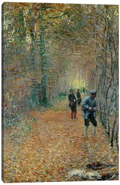 The Shoot, 1876 Canvas Art Print