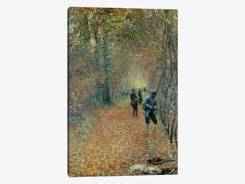 The Shoot, 1876 by Claude Monet 1-piece Canvas Print