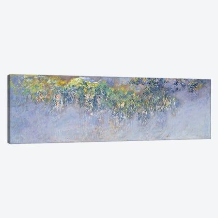 Wisteria, 1919-20  Canvas Print #BMN1330} by Claude Monet Canvas Artwork