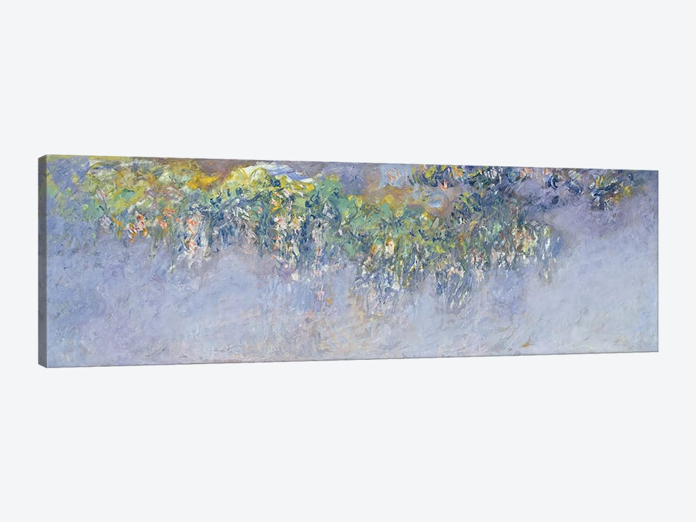 Wisteria, 1919-20  by Claude Monet 1-piece Canvas Art