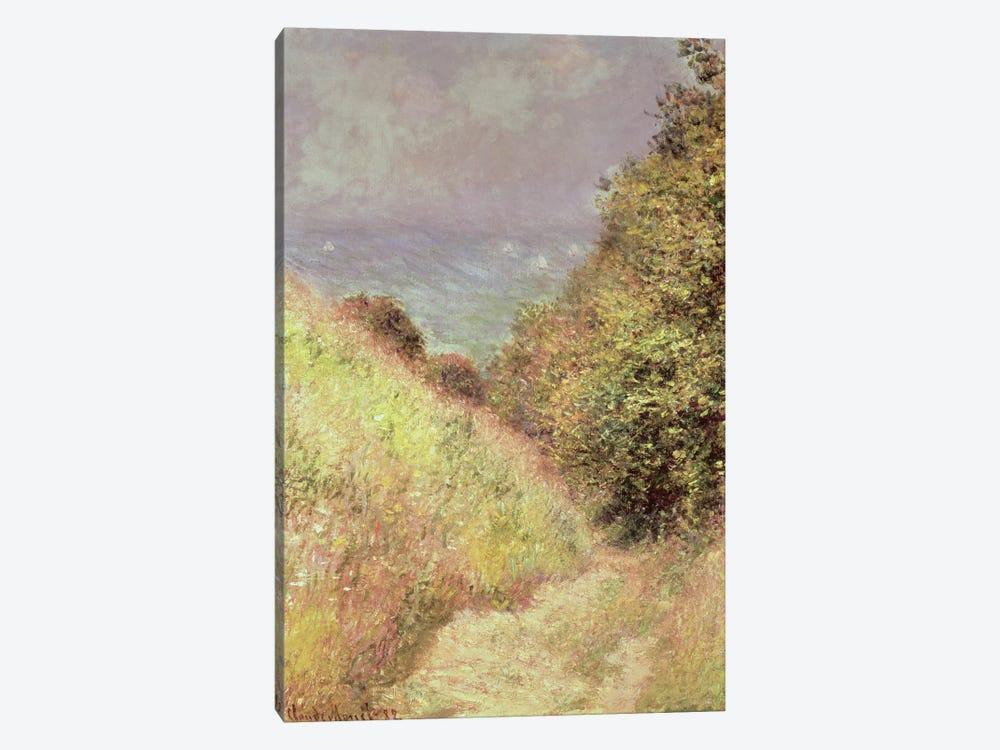 Chemin de la Cavee, Pourville, 1882 by Claude Monet 1-piece Canvas Art Print