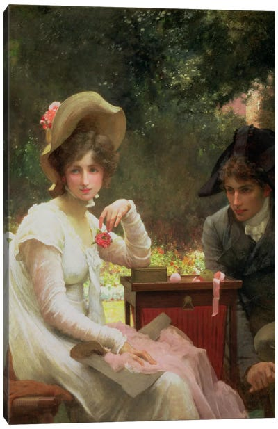 In Love, 1907  Canvas Art Print