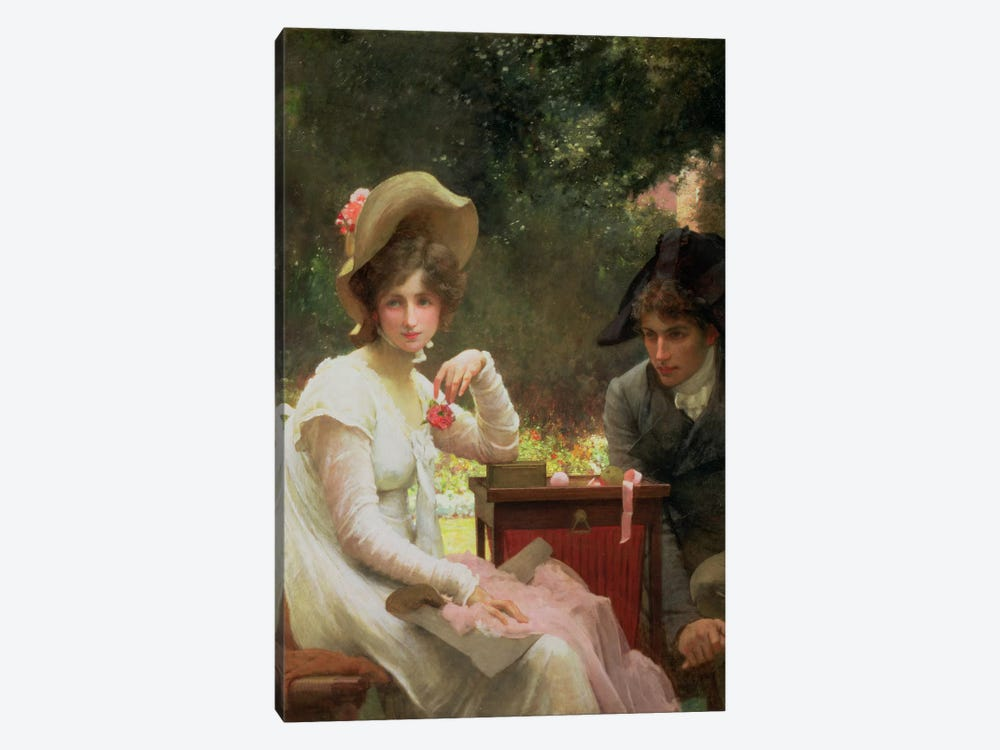 In Love, 1907  by Marcus Stone 1-piece Canvas Artwork