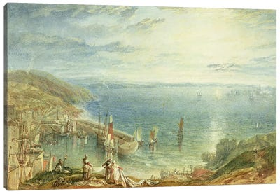 No.1790 Torbay from Brixham, c.1816-17  Canvas Art Print