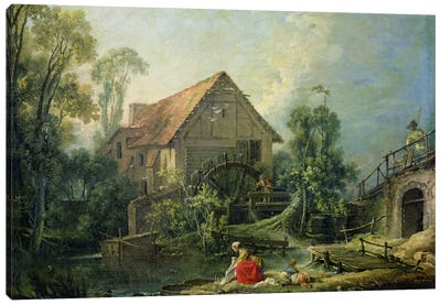 The Mill, 1751  Canvas Art Print