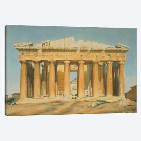 The Parthenon, Athens, 1810-37  Canvas Print #BMN1352} by Louis Dupre Canvas Art