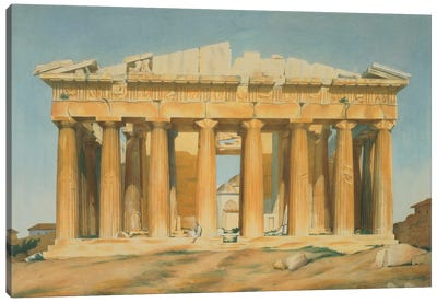 The Parthenon, Athens, 1810-37  Canvas Art Print