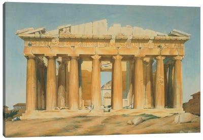 The Parthenon, Athens, 1810-37  Canvas Art Print