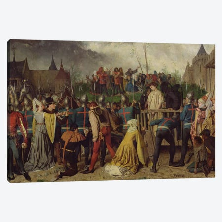 Joan of Arc  Canvas Print #BMN1360} by Isidore Patrois Art Print