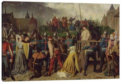 Joan of Arc  Canvas Art Print