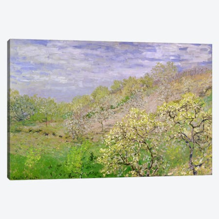 Trees in Blossom Canvas Print #BMN1364} by Claude Monet Canvas Art