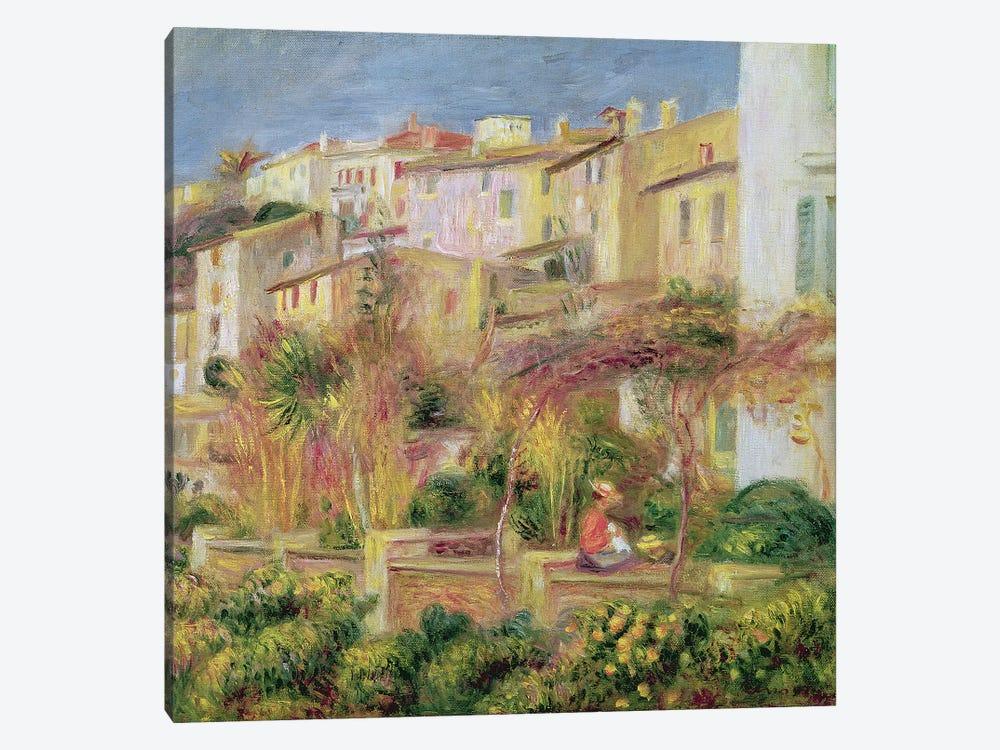Terrace in Cagnes, 1905  by Pierre-Auguste Renoir 1-piece Canvas Artwork