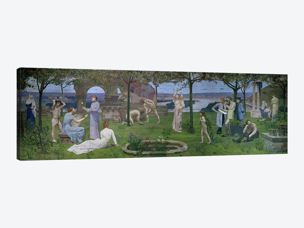 Between Art and Nature, 1890  by Pierre Puvis de Chavannes 1-piece Art Print