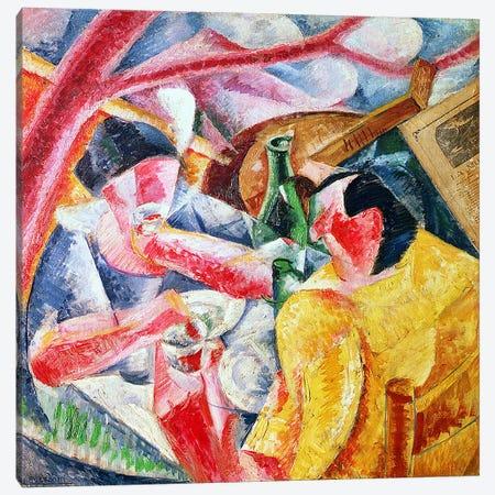Under the Pergola at Naples, 1914 Canvas Print #BMN1377} by Umberto Boccioni Canvas Art Print