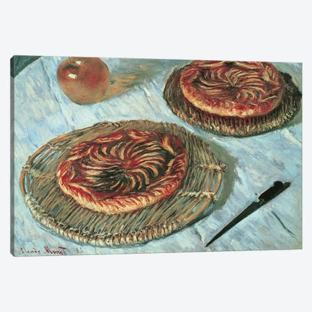Fruit Tarts, 1882  Canvas Print #BMN1380} by Claude Monet Canvas Art Print