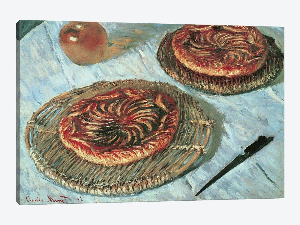 Fruit Tarts, 1882  by Claude Monet 1-piece Canvas Print