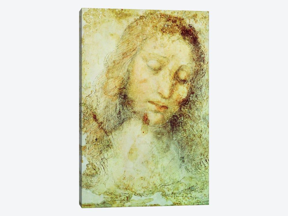 Head of Christ (Pinacoteca di Brera) by Leonardo da Vinci 1-piece Art Print