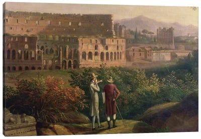 Johann Wolfgang von Goethe  Canvas Art Print