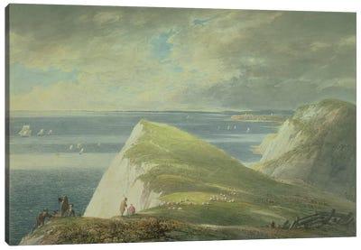 No.2372 Shakespeare's Cliff, Dover  Canvas Art Print