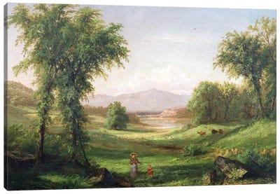 New Hampshire landscape  Canvas Art Print