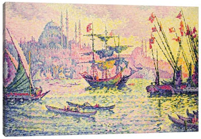 View of Constantinople, 1907  Canvas Art Print