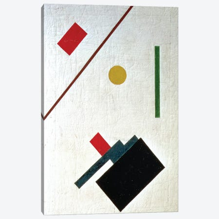 Suprematist Composition, 1915 Canvas Print #BMN1403} by Kazimir Severinovich Malevich Canvas Wall Art