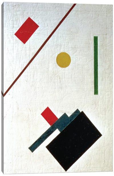 Suprematist Composition, 1915 Canvas Art Print