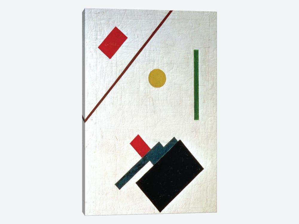 Suprematist Composition, 1915 by Kazimir Severinovich Malevich 1-piece Canvas Print