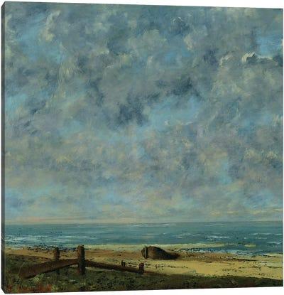The Sea, c.1872  Canvas Art Print