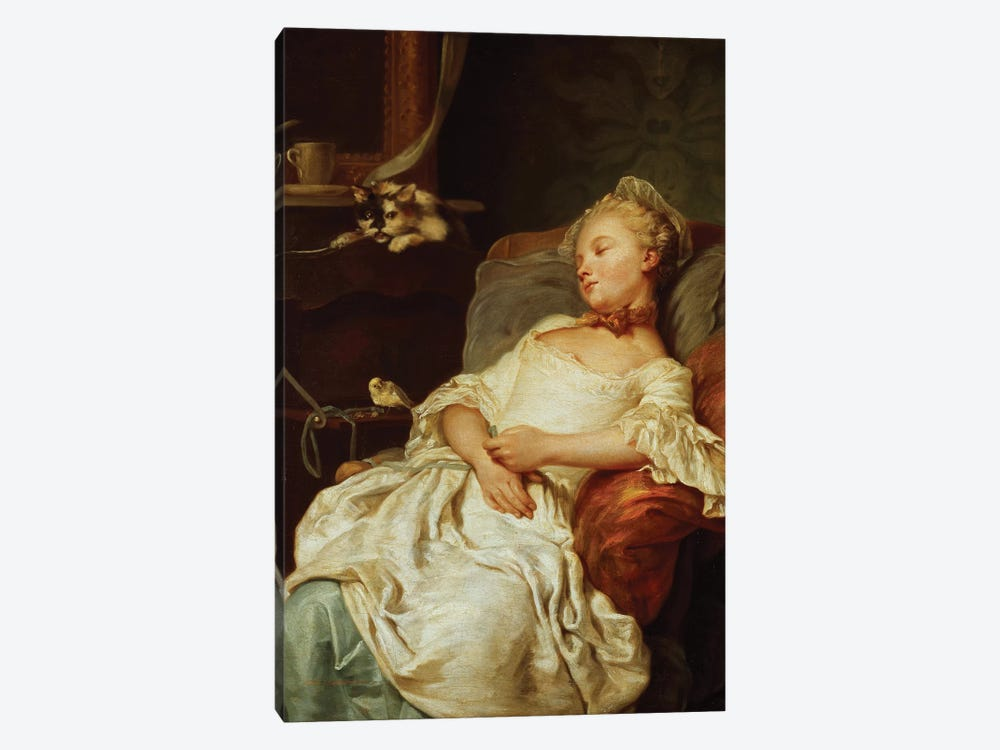 The Sleeper, 1759  by Jean Francois Colson 1-piece Canvas Art