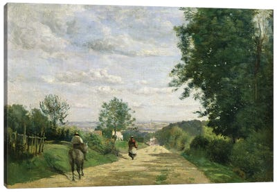The Road to Sevres, 1858-59   Canvas Art Print