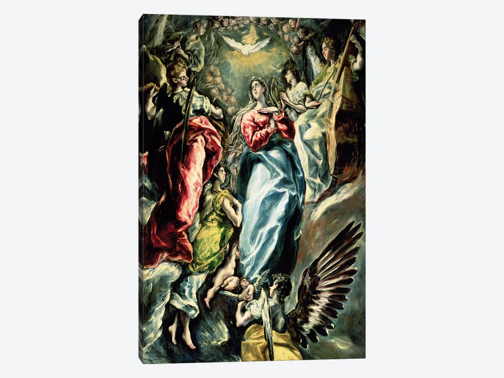 The Immaculate Conception, 1607-13 by El Greco 1-piece Canvas Wall Art