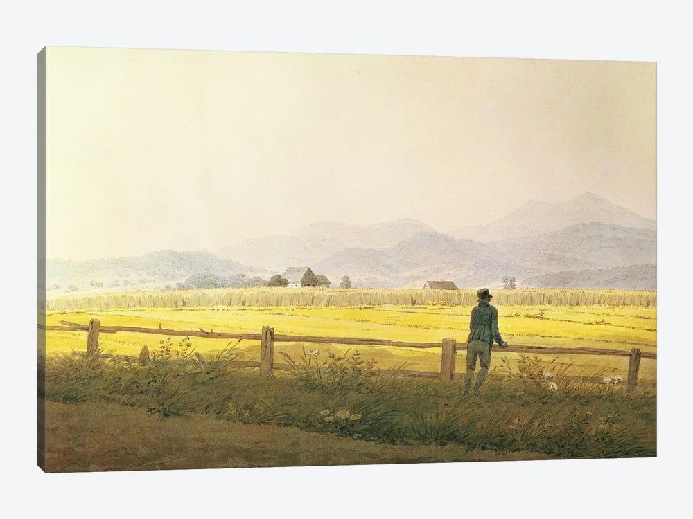 View of Schmiedebergerkamm, c.1837  by Caspar David Friedrich 1-piece Canvas Art