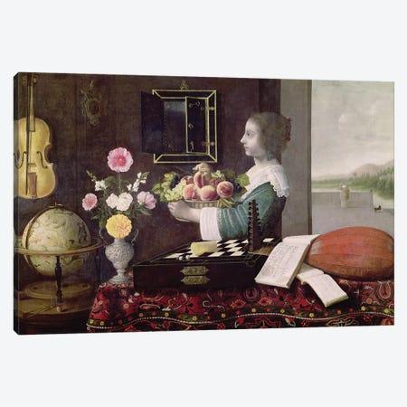 The Five Senses, or Summer, 1633  Canvas Print #BMN1424} by Sebastian Stoskopff Canvas Art Print