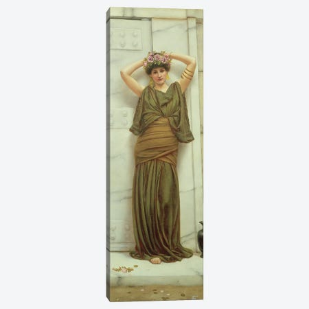 Ianthe, 1889  Canvas Print #BMN1427} by John William Godward Canvas Print