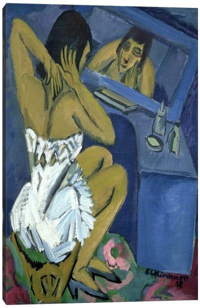 Woman before the Mirror, 1912  Canvas Art Print