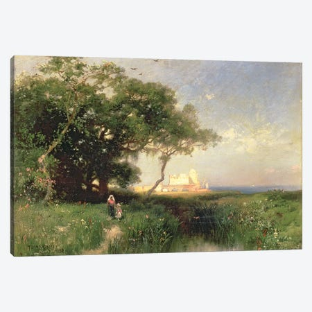 The Coast of Florida, 1882  Canvas Print #BMN1436} by Thomas Moran Canvas Art