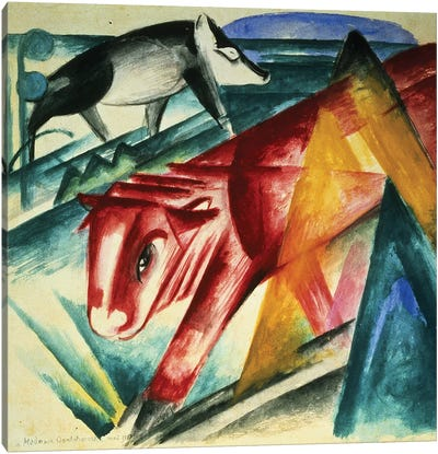Animals, 1913  Canvas Art Print