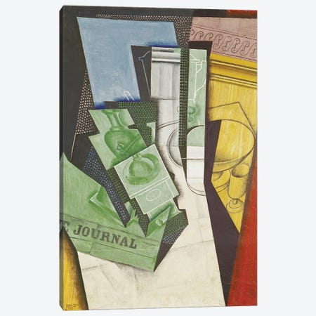 Breakfast, 1915  Canvas Print #BMN1442} by Juan Gris Canvas Art