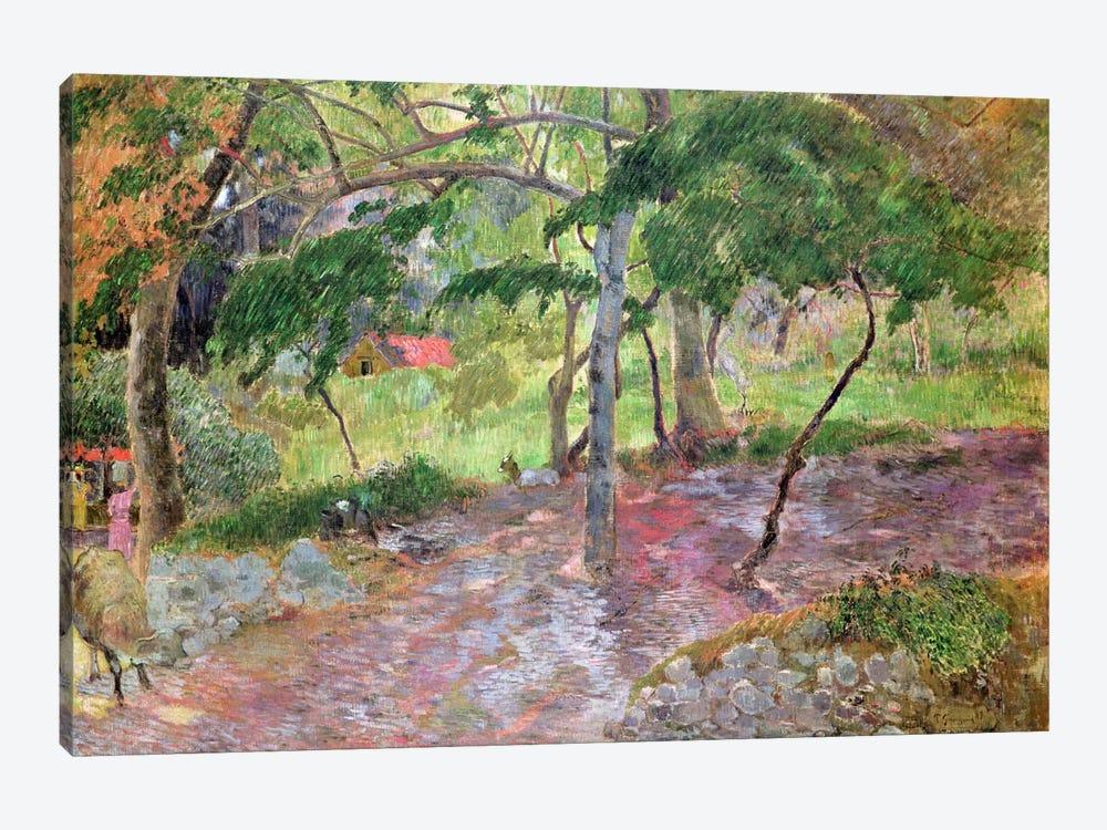 Tropical Landscape, Martinique, 1887  by Paul Gauguin 1-piece Canvas Print