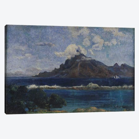 Coastal Martinique Landscape, 1887  Canvas Print #BMN1444} by Paul Gauguin Canvas Art Print