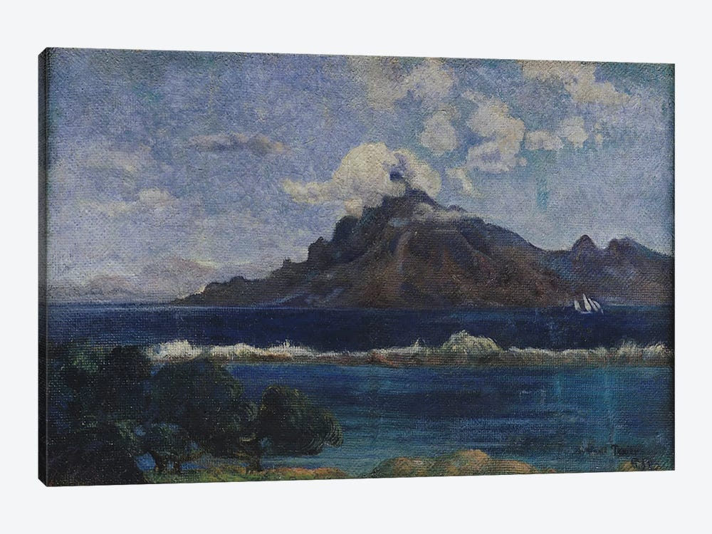 Coastal Martinique Landscape, 1887 by Paul Gauguin 1-piece Canvas Artwork